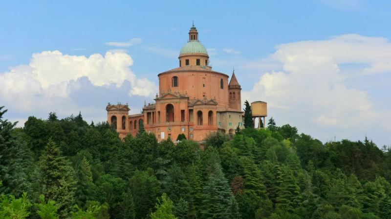 Basilica San Luca e percorso Bologna