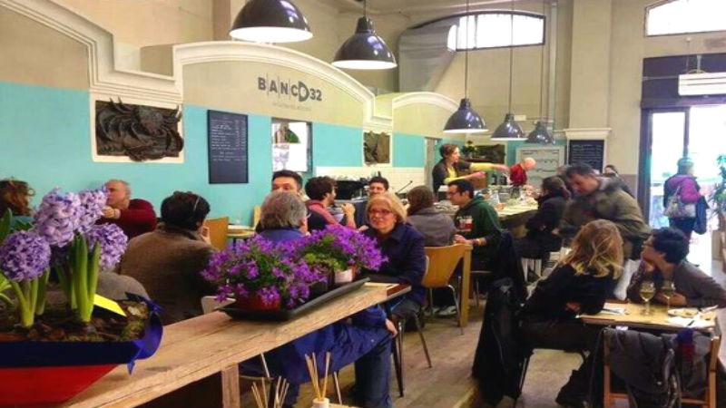 Banco 32 aperitivo Mercato delle Erbe Bologna
