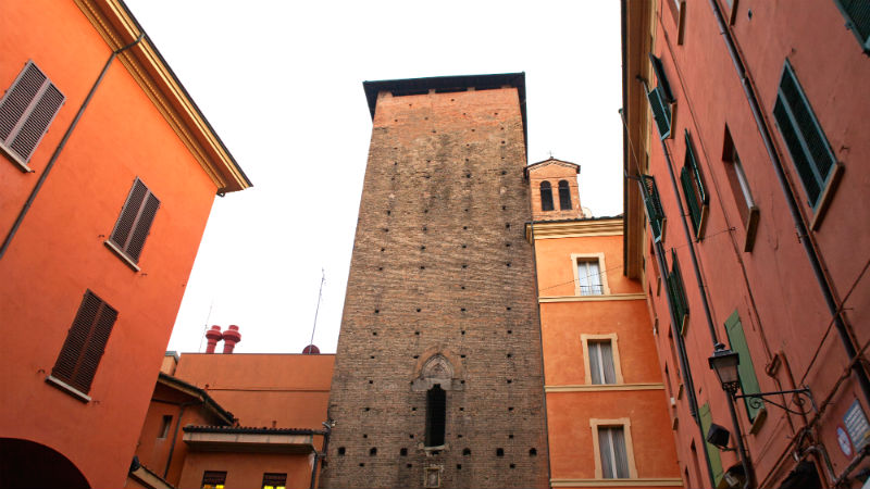 Corte dei Galluzzi visitare Bologna