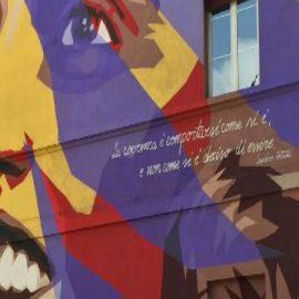 Irma Bandiera: il murales di Bologna