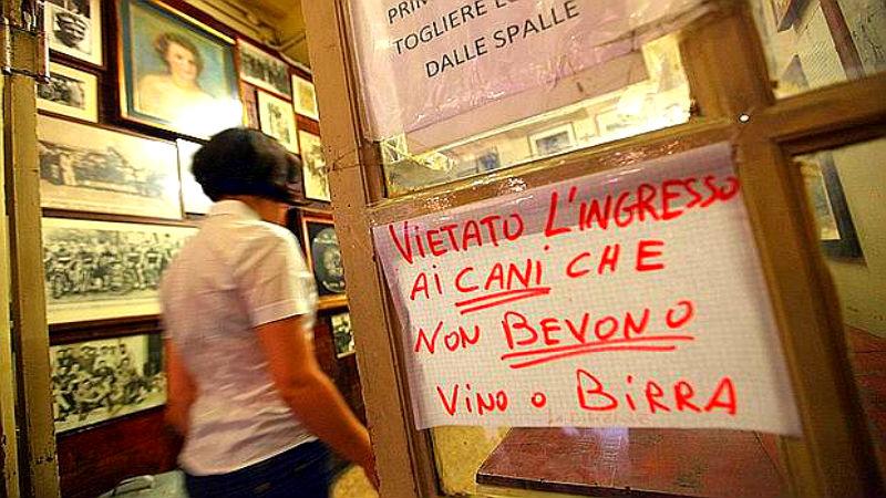 Osteria del Sole Centre zone aperitif Bologna
