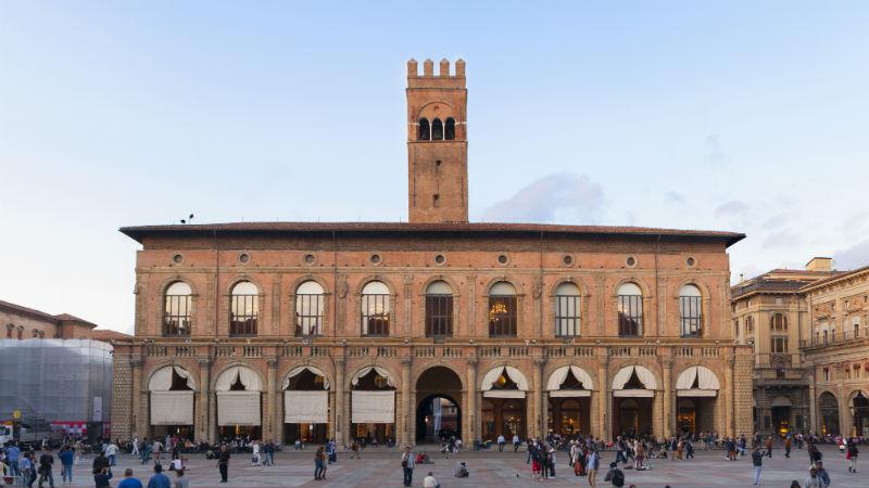 Palazzo del Podestà visitare Bologna
