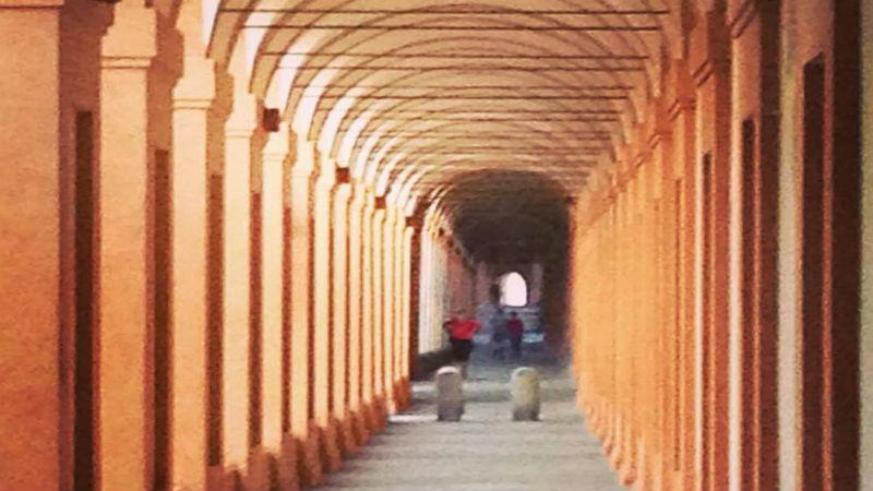 The portico of San Luca visit Bologna