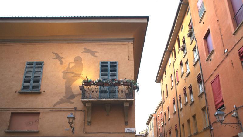 via d'azeglio visitare bologna