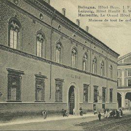 Storia dell'hotel brun e di via ugo bassi a bologna