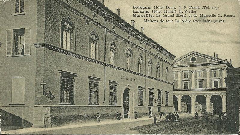 Lo storico hotel Brun di Bologna